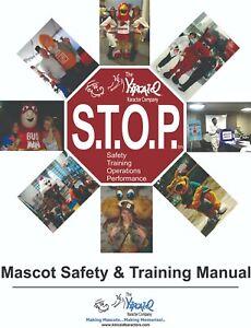 Mascot Costume Safety & Training Book- FREE Bonus Mascot DVD, FREE Shipping