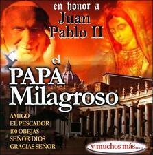 En Honor A Juan Pablo II El Papa Milagroso by Various Artists (CD, Jul-2011)
