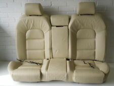 Audi A8 D3 Cream Beige Leather Rear Sports Seats Backrest and Bench #2