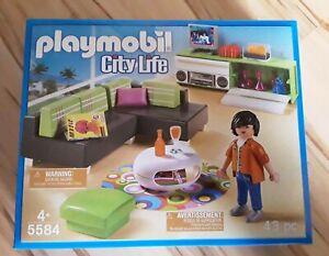 PLAYMOBIL 5584 City Life Wohnzimmer * NEU mit OVP