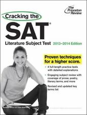 Princeton Review SAT Prep Guide - Literature Subject Test 2013-14