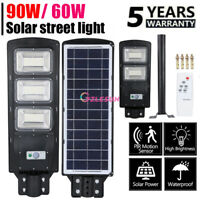 95000LM Commercial Solar Street Light LED Outdoor IP67 Dusk-to-Dawn Road Lamp