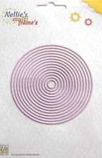 Nellie Snellen multi Frame Dies- Straight Round- craft, card making, MFD055