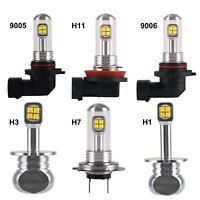 H1 H3 H7 H11/H8/H9 9005 9006 160W 6000K LED Fog Light Driving Bulb DRL 1500LM