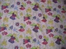 Robert Allen Fabrics Fairies on Pink Susan Sargent Dupont Teflon Upholstery