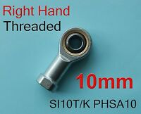2x Right 10mm SI10T/K PHSA10 SI10P/K NHS10 Threaded Female Rod End Joint Bearing