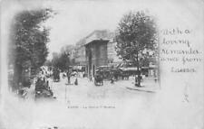 LA PORTE S' MARTIN PARIS FRANCE TO USA POSTCARD 1901