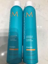 Moroccanoil Luminous Hairspray Strong 10oz - 2 PACK DUO SET
