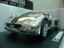 WOW EXTREMELY RARE Audi Avus Quattro 6.0L W12 60V 1992 Chrome 1:18 Revell-RS/GT