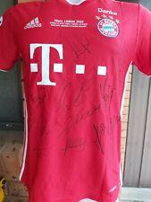 Bayern Munich Signed Champion'S League Winners Jersey 2020 Jersey + Coa