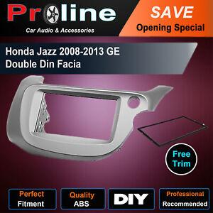 Honda Jazz 2008-2013 GE DOUBLE 2 DIN stereo radio facia Fascia Dash kit Panel
