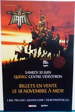 Original Poster 11x17 Iam Concert affiche 2018 / I Am L'école du micro d'argent