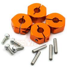 GPM Aluminum Hex Adapter 12mm X 6mm Orange Axial SCX10 RC Car Crawler #SCX010-OR