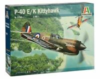 Italeri P-40 E/K Kittyhawk 1:48 scale model airplane kit new 2795