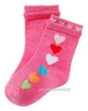 NWT GYMBOREE SUGAR COOKIE VALENTINE PINK HEART SOCKS 3-6-9-12 BABY GL