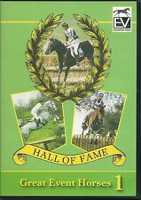 HALL OF FAME GREAT EVENT HORSES 1 - EQUESTRIAN DVD