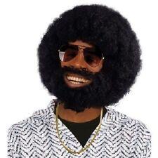 1970's LIONEL NERO Parrucca afro con Barba & BAFFI Vestito