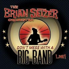 THE BRIAN SETZER ORCHESTRA Don't Mess With A Big Band Live! 2CD NEW Stray Cats