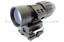 3X Magnifier w/30mm FTS Flip to Side Mount for Aimpoint EOTech