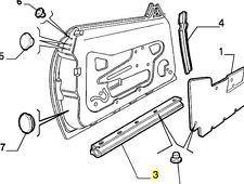 Alfa Romeo 916 GTV & Spider Bottom Door Seal 60595344 New & Genuine Left + Right
