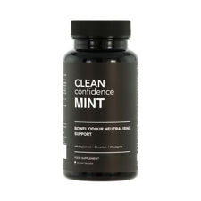 CLEAN Confidence MINT Bowel Odour Neutralising Support - 60 Capsules
