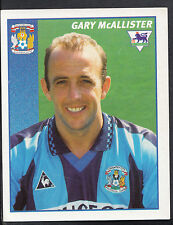 Merlin Football Sticker- 1997 Premier League - No 120 - Coventry - McAllister