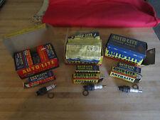 Vintage AUTO_LITE spark plugs A-5,AL7, AR82,with original boxes