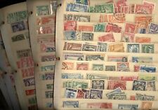 BRITISH COLONIES, MALTA, 100s of Stamps in battered stock pages