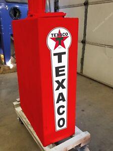 "25"" X 6"" Texaco Gas Oil Vinyl Decal Lubester Sides Oil Pump Lubster Restoration"