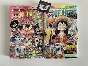 One Piece 99 + One Piece 100 Japanese Manga - New - Nuovi