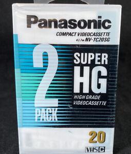 Panasonic Super HG Videocassette 2 Pack NV-TC20SG2 D5