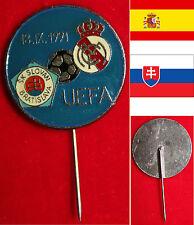 Fußball FOOTBALL Anstecknadel CL 18.IX.1991 SK SLOVAN BRATISLAVA - REAL MADRID