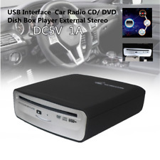 USB Interface Car Radio CD/DVD Dish Box Player External Stereo Android Device