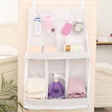 Large Baby Crib Cot Bed Nursery Storage Bag Hanging Diaper Organizer Tidy Pocket