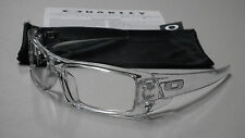Authentic Oakley Gascan Crystal Clear Sunglasses Frame & Bag OO9014-1760