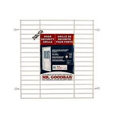 Security Bars Door Grille 24 x 26 in. White Window Home Garage Door Shed Cottage