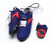 Adelaide Crows AFL Aussie Rules Hanging Suction Footy Boots Birthday Gift