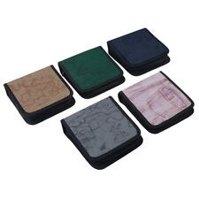 40 Disc CD DVD Holder DJ Storage Cover Box Case Organizer Wallet Bag Album DY