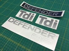 Land Rover Defender 90 Tdi restauración Calcomanías Stickers gráficos Td5