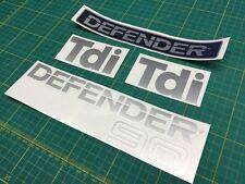 Land Rover Defender 90 Tdi Restoration Decals Stickers Graphics TD5