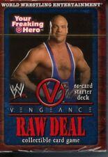 WWE Raw Deal CCG Vengeance Kurt Angle Starter Sealed Deck