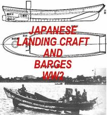 WW2 JAPANESE MILITARY LANDING CRAFT & BARGES NEW