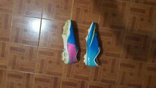 Nike Mercurial size 12 blue green pink soccer futbol cleats