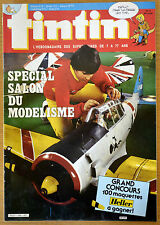 BD Comics Magazine Hebdo Journal Tintin No 13 40e 1985 Salon du Modelisme
