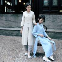 Vintage Women Tai Chi Top Chinese Tang Suit Coat  Martial Arts Kung Fu Uniform