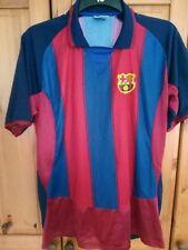"Men's replica Barcelona shirt size M/L ""not official"""