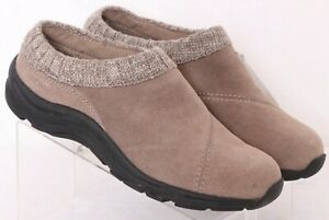 NEW Vionic Arbor Orthaheel Brown leather Comfort Slip-On Shoes Women's US 7.5