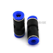 10x Pneumatic Straight Connector OD 1/4