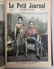 Le Petit journal : 2 Années 1893-1894 / Roi de SIAM / Madagascar / Russie / Tsar