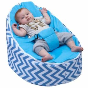 Blue Bean Bag for Babies and Toddlers - Filled and Ready to Use - Free Shipping